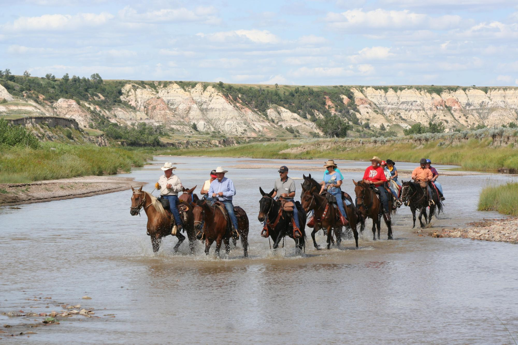 Riding in South Dakota